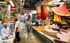 Mangaldas cloth market and Zaveri bazaar Mumbai