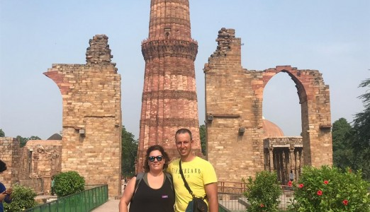 How To Visit Qutub Minar By Air