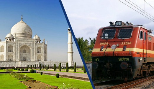 How To Reach Taj Mahal By Train