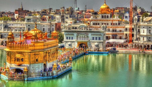 How To Reach Golden Temple By Air