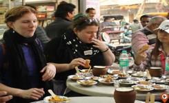 popular street food in Varanasi