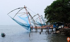 Cochin day tour including Chinese Fishing nets