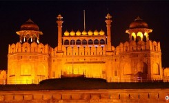 Evening at Delhi Red Fort Sound and Light Show Followed by Dinner