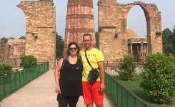 indiator Client Visited Qutub Minar