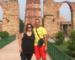 indiator Client Visited Qutub Minar
