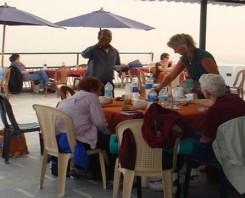 Ganga - view dinner