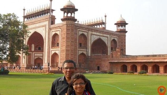Mughals monument, Agra Fort