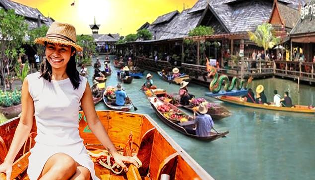 Bangkok Damnoen Saduak Floating Market Tour