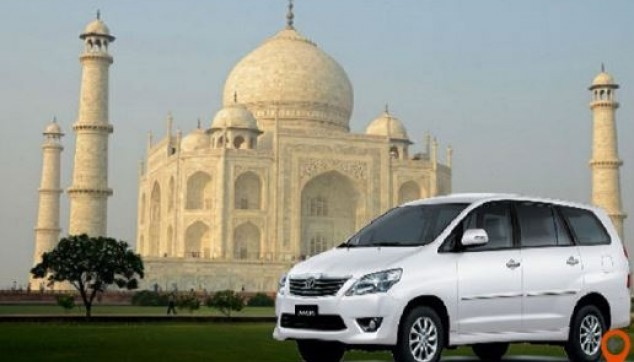 airport transfer service from Agra