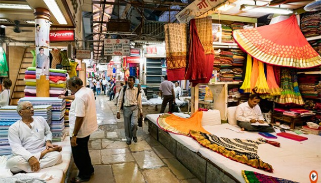 Mangaldas cloth market and Zaveri bazaar Mumbai