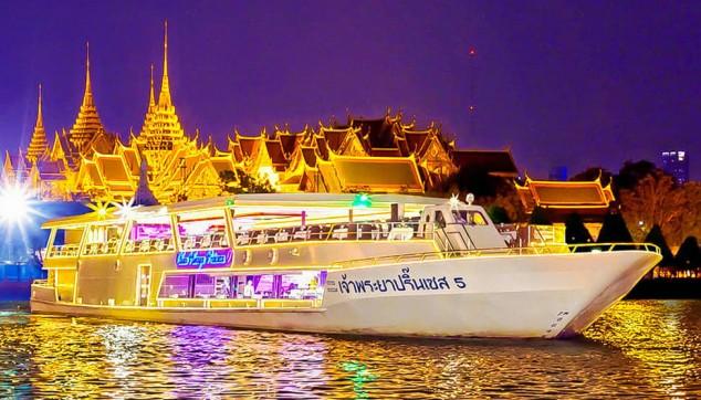 luxurious cruises Bangkok tour package