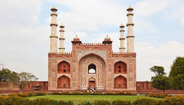 Akbar Tomb Tour - indiator