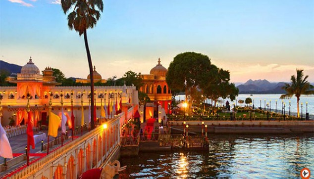 Taj Lake Palace and Jagmandir Island Palace