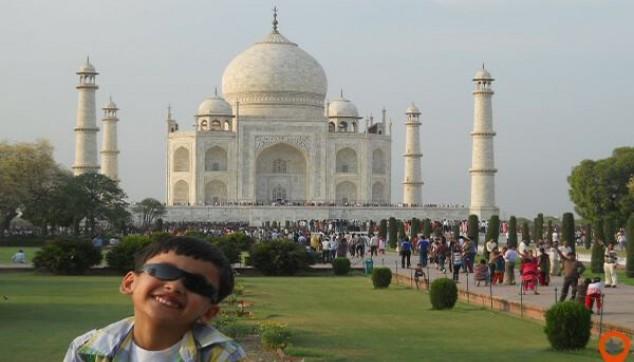 Breathtakingly beautiful Taj Mahal