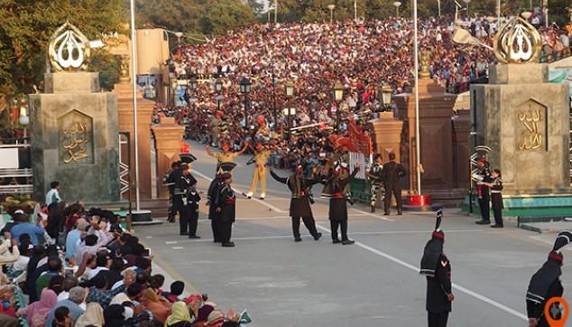 amritsar wagah border parade
