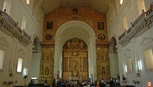 beauty of churches of Old Goa