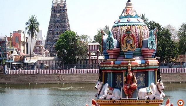 Kapaleeswarar Temple in Mylapore