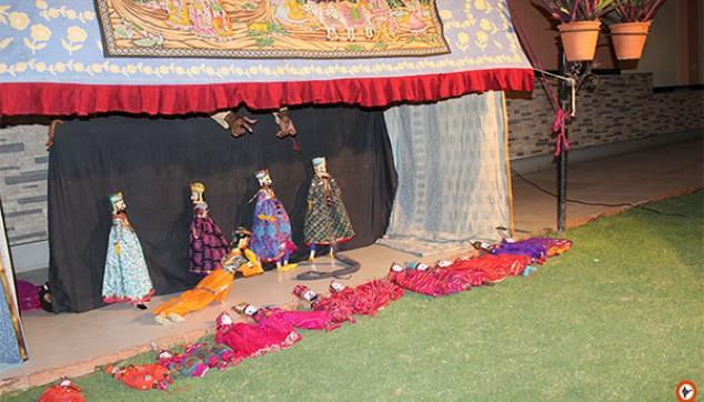 Jaipur puppet show