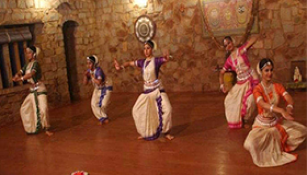 Indian classical dance village