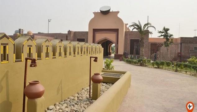 Punjabi village resort