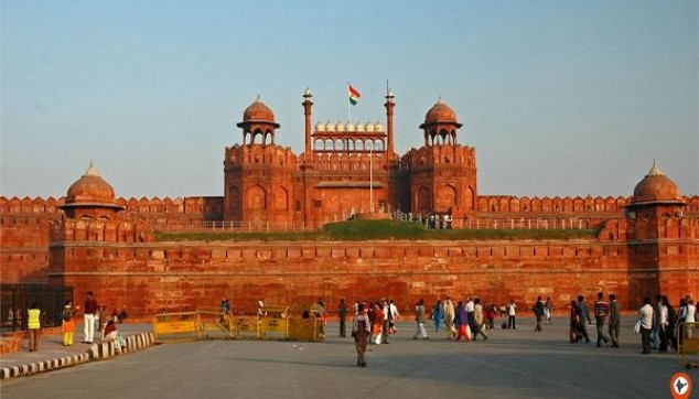 Visit Red Fort Delhi - indiator