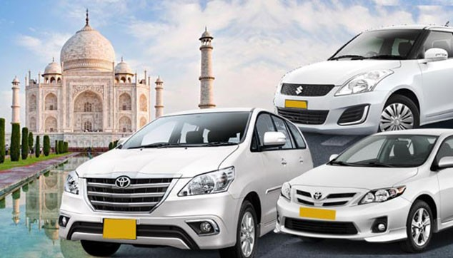 Private Taxi Services from Agra to New Delhi